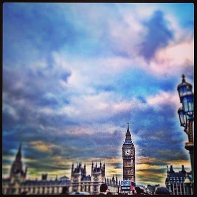 London Skyline Photograph - #sky #skyline #westminster #bigben by Sharyn Omalley
