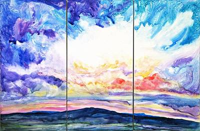 Sky Sonata Art Print by Joan Hartenstein