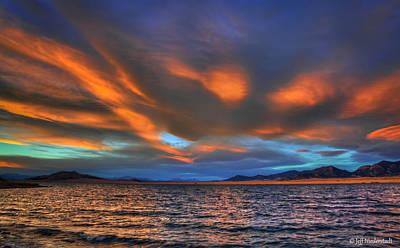 Photograph - Sky Streaking by Jeff Niederstadt