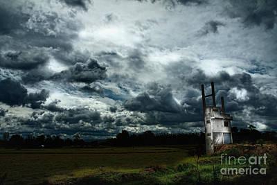 Sky  Art Print by Thammasak Kanjananul