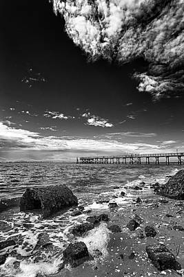 Photograph - Sky To Shore by Alan Raasch