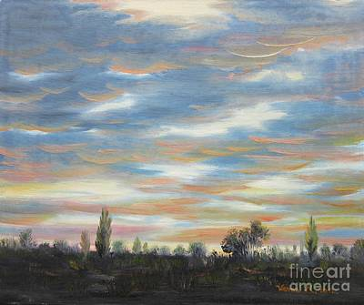 Sky Art Print by Vesna Martinjak