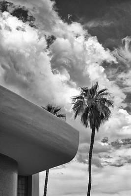 Sky-ward Palm Springs Art Print by William Dey