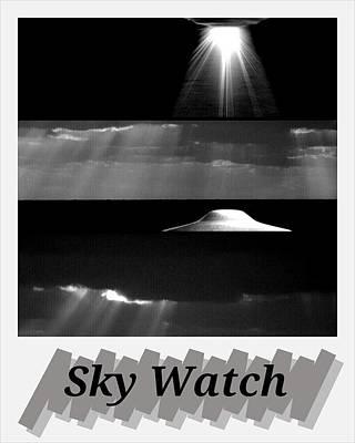 Ufo Photograph - Sky Watch by Daryl Macintyre