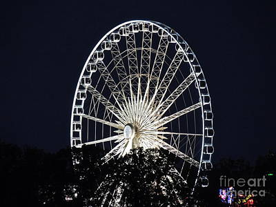 Photograph - Sky Wheel - Niagara Falls by Eve Spring