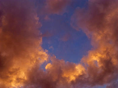 Photograph - Sky Window by Claudia Goodell