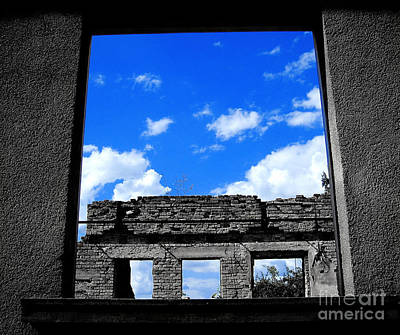 Sky Windows Art Print by Nina Ficur Feenan