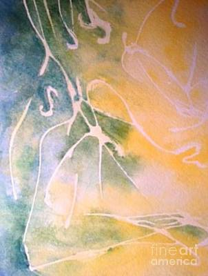 Painting - Sky Writing by Laura Hamill
