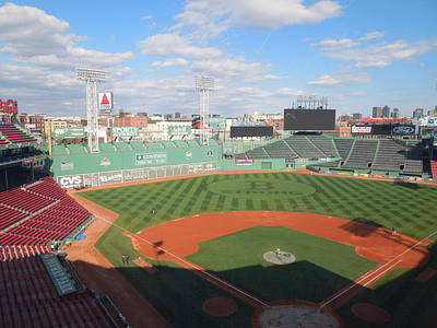 Photograph - Skybox View Of Fenway Park by Caroline Stella