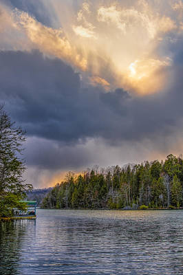 Photograph - Skyburst by Jay Huron