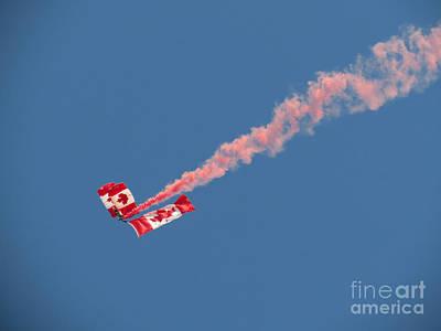 Photograph - Skydivers #01 by Ausra Huntington nee Paulauskaite