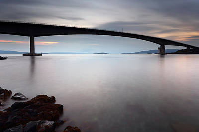 Skye Bridge Art Print by Grant Glendinning