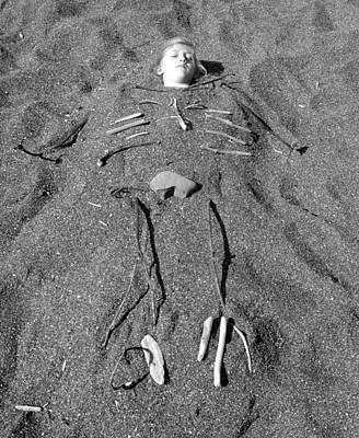 Photograph - Skye Skeleton by Tarey Potter