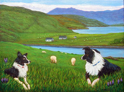 Painting - Skye Watch by Fran Brooks