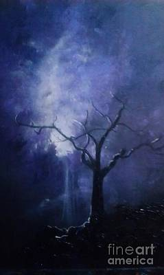 Painting - Skyeden Night by Stefan Duncan