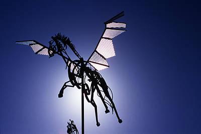 Skyhorse Art Print by Bernard  Barcos