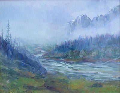 Charles Smith Painting - Skykomish Sunrise by Charles Smith
