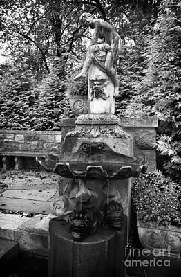 Photograph - Skylands Fountain by John Rizzuto
