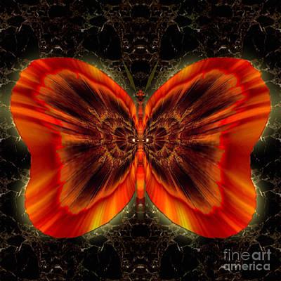 Blue Healer Digital Art - Skylark Copperspirit by Raymel Garcia