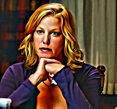 Painting - Skyler White by Florian Rodarte