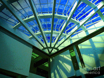 Photograph - Skylight Shadows by Sally Simon