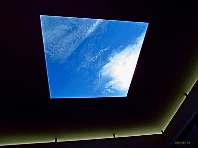 Photograph - Skylight by T Guy Spencer