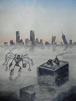 Skyline Art Print by Amanda Ellis