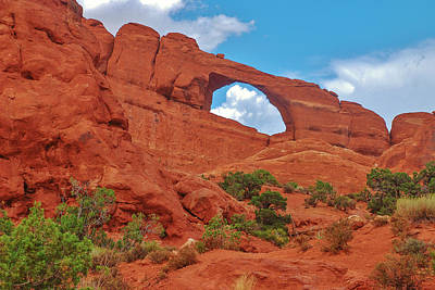 Photograph - Skyline Arch by Dany Lison