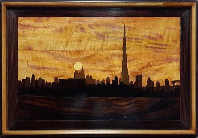 Painting - Skyline by Art Tantra