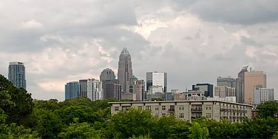 Photograph - Skyline Charlotte by John Black