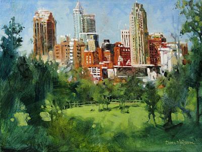 Skyline From Dix Hill Art Print