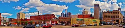 Skyline From The Inside... Detroit Art Print