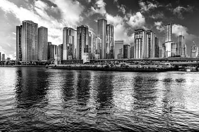 Photograph - Chicago Skyline From The Lake by Erwin Spinner
