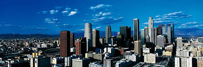 Skyline From Transamerica Center Los Print by Panoramic Images