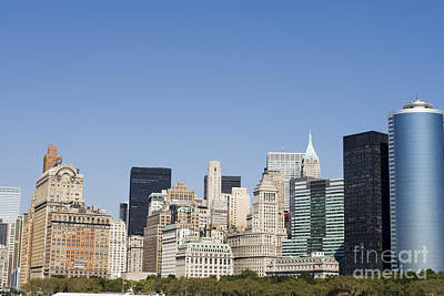 Photograph - Skyline Manhattan by Patricia Hofmeester