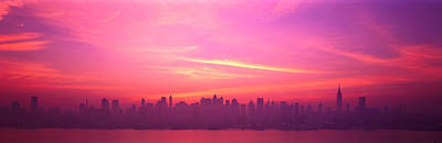 Skyline, Nyc, New York City, New York Art Print