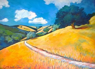 Open Space Painting - Skyline Oak by Stephanie  Maclean