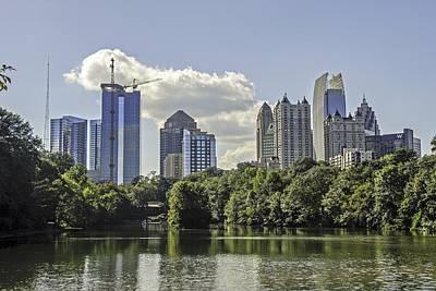 Photograph - Skyline Of Atlanta Georgia by Willie Harper