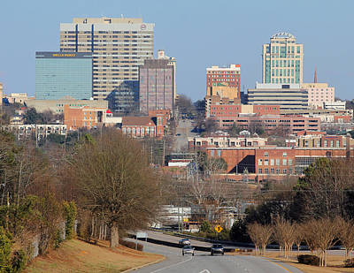 Photograph - Skyline Of Columbia 01 18 A by Joseph C Hinson Photography