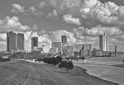 Photograph - Skyline Of Fort Worth by David and Carol Kelly