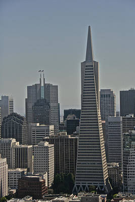 Photograph - Skyline San Francisco by Steven Lapkin