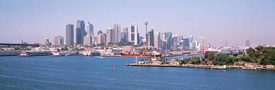 Skyline Sydney Australia Art Print by Panoramic Images