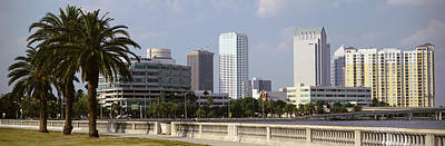 Skyline Tampa Fl Usa Art Print by Panoramic Images