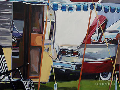 Cars Painting - Skyliner Weekend by Deb Putnam
