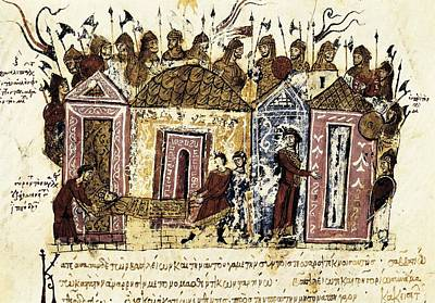 Byzantine Photograph - Skylitzer, John 9th Century. Madrid by Everett