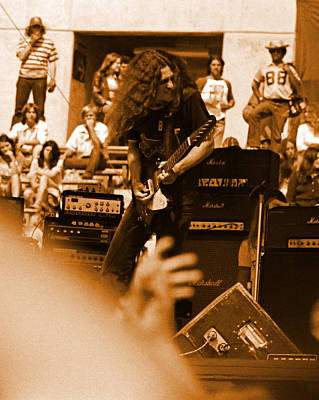 Photograph - Skynyrd #2 In Amber by Ben Upham