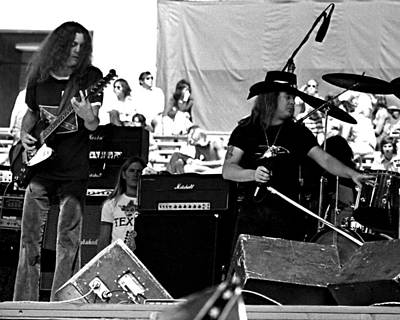 Photograph - Skynyrd #23 Crop 2 by Ben Upham