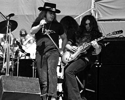 Skynyrd #26 Crop 2 Art Print by Ben Upham