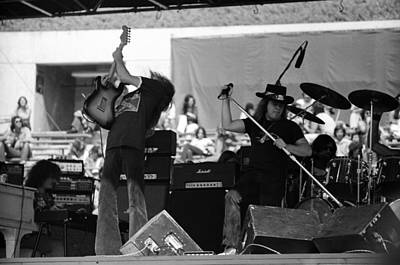 Photograph - Skynyrd #4 Full Frame by Ben Upham