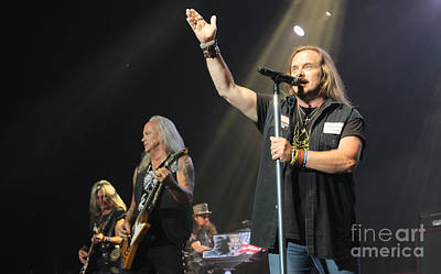 Concert Photograph - Skynyrd-group-7229 by Gary Gingrich Galleries